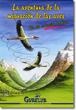 Comic: The adventure of the migration of the birds (5 €)