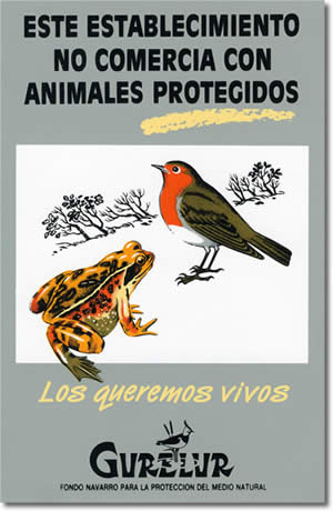 Sticker: Animal protected Campaign (1 €)