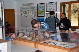 Environmental activities about birds at Gurelur's Migration Centre Orreaga