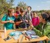 Escolares arguedanos participan en las actividades de la Estación Biológica de Arguedas
