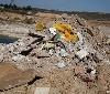 Gurelur denuncia el ilegal y contaminante vertido de residuos contaminantes en Mendavia