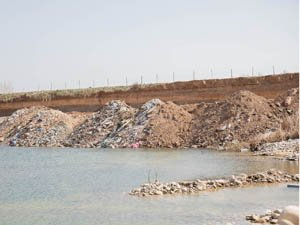 Se está contaminando las aguas del Ebro