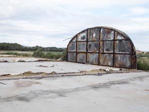 Invernaderos de donde provienen los residuos