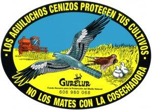 Pegatina del Proyecto Aguilucho