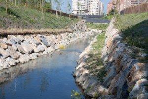 Obscena canalización del río Sadar