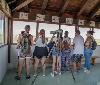 La asociación AMIMET de Tudela visita la Estación Biológica de Arguedas de la mano de Gurelur