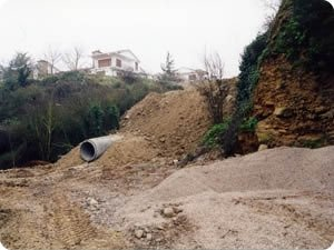 Barranco de San Blas en Cáseda