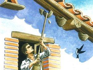 Triste imagen que se repite en pueblos y ciudades de Navarra