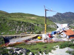 Destructiva estación de esquí en la Reserva Natural de Larra